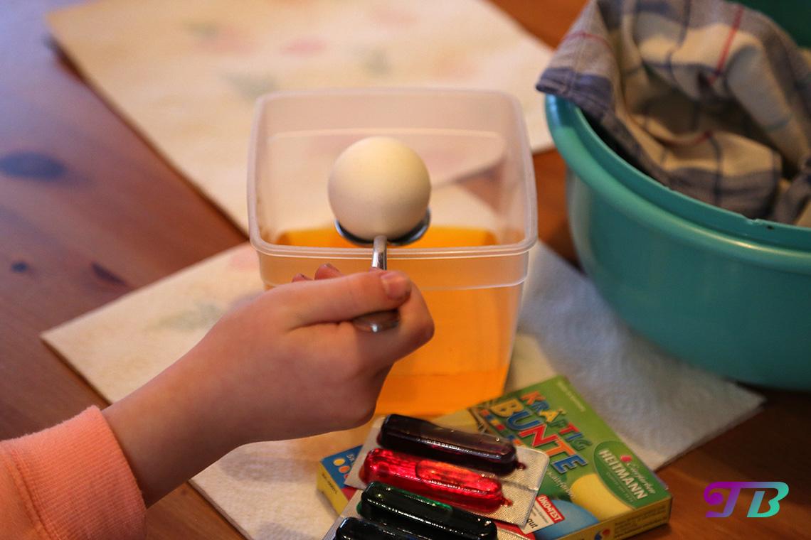Ostereier Ei Farbe