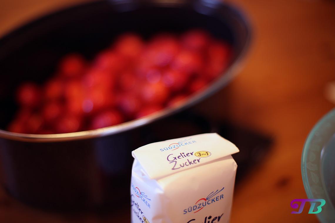 Erdbeeren Gelierzucker Südzucker