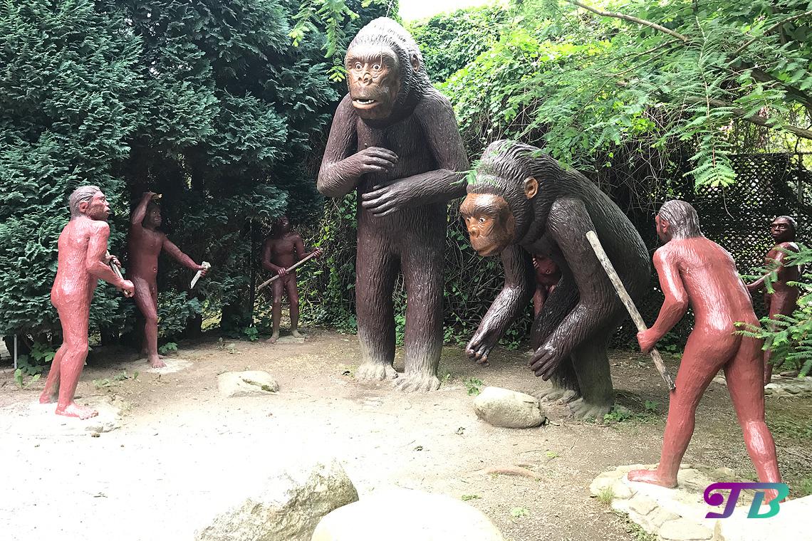 Saurierpark Kleinwelka Urmenschen