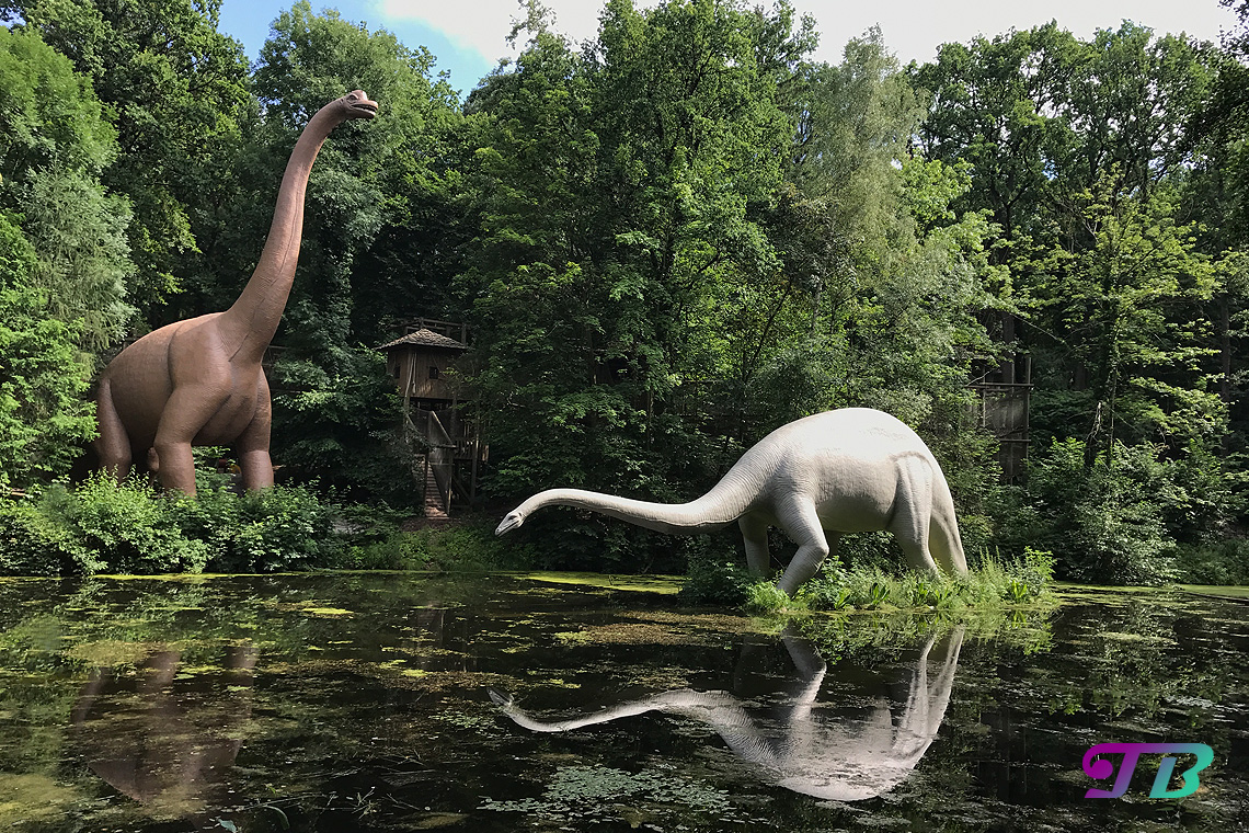 Saurierpark Kleinwelka Saurier Brachiosaurus Diplodocus