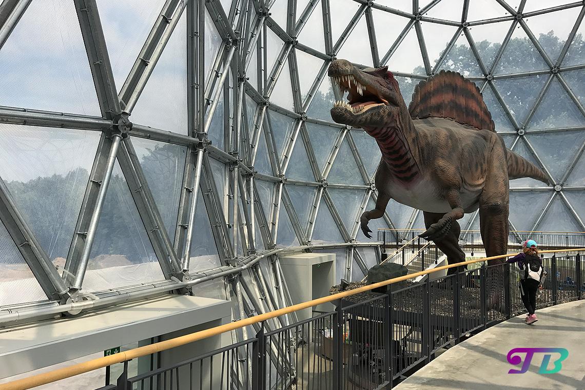 Saurierpark Kleinwelka Spinosaurus