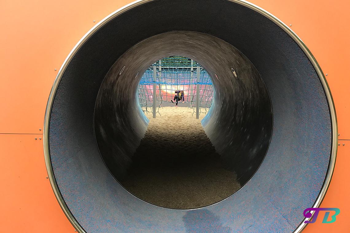 Saurierpark Kleinwelka Universum Hamsterrad Kletternetz