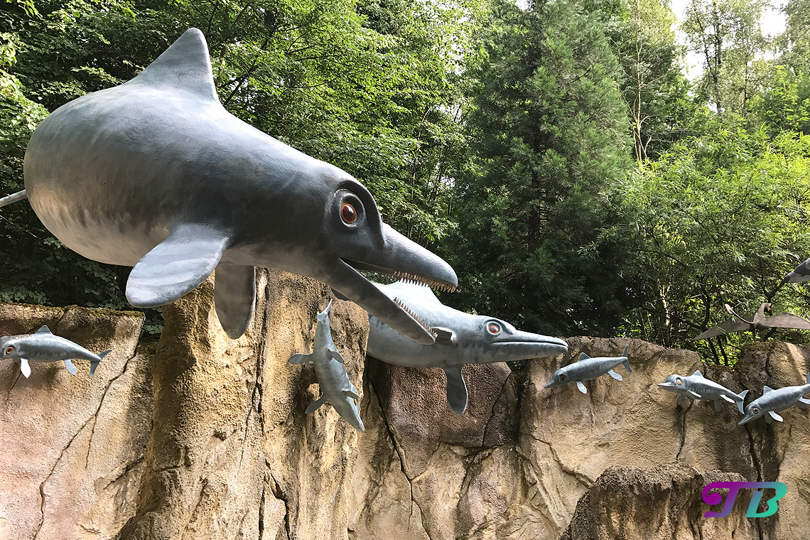 Saurierpark Kleinwelka Unterwasserwelt Saurier Ophthalmosaurus