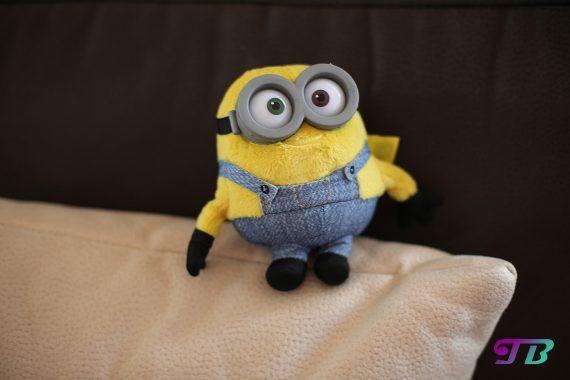 Minions Bob Plüsch Figur