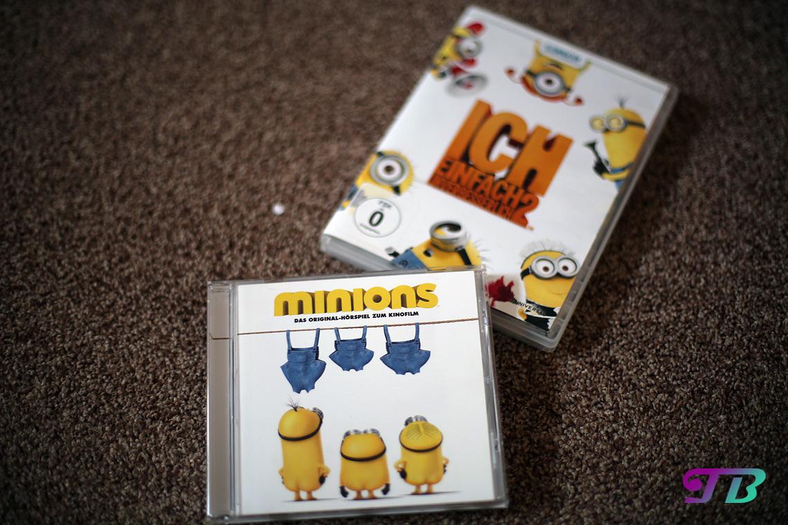 Minions CD DVD Kinofilm