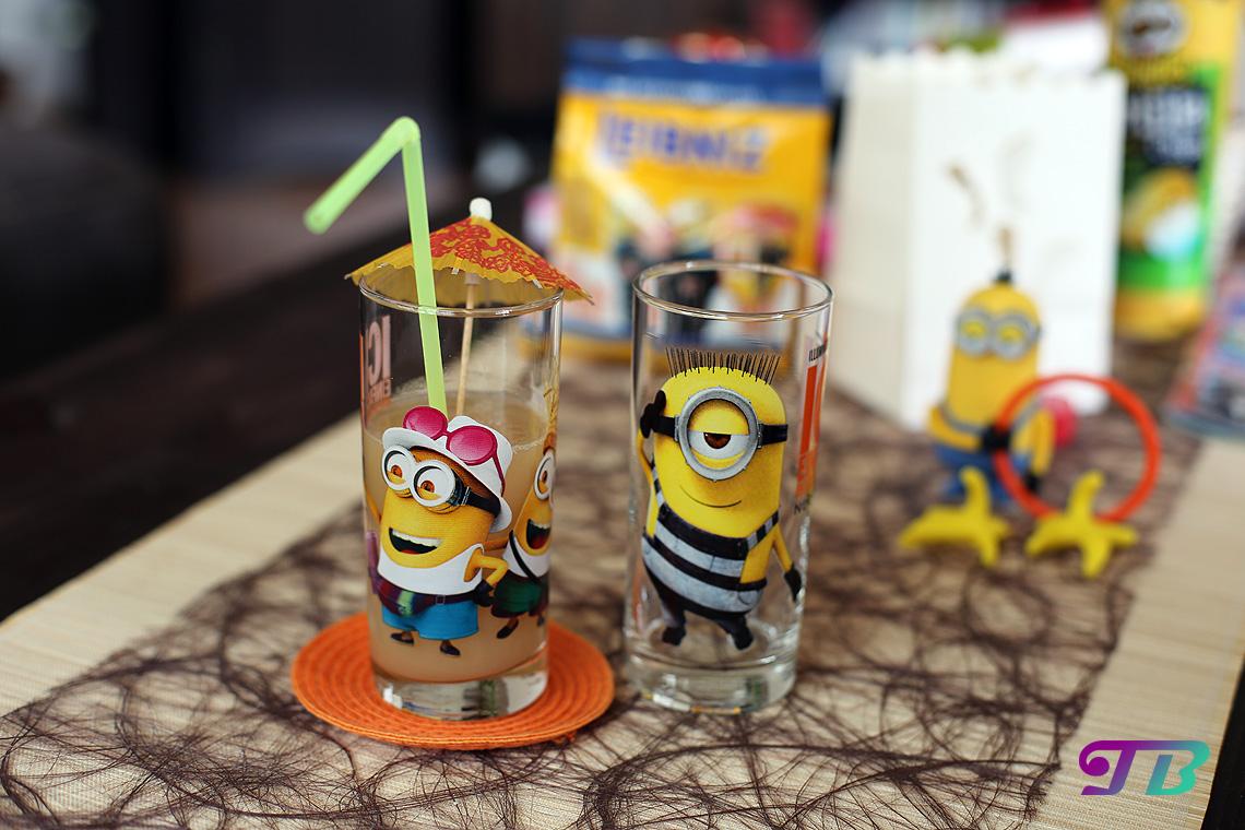 Minions Gläser McDonalds Happy Meal Figuren