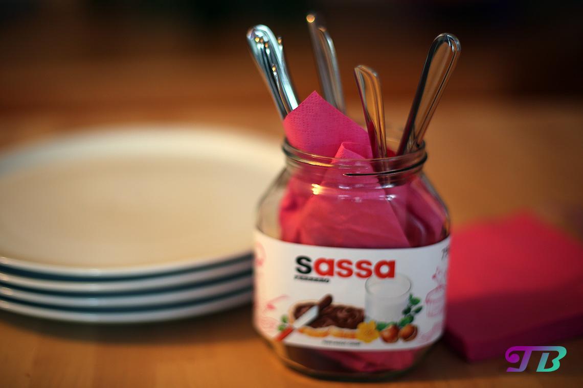 Nutella Glas DIY Besteck