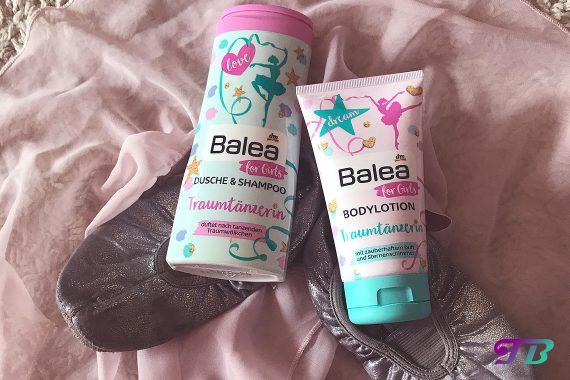 Balea Girls Traumtänzerin Bodylotion Dusche Shampoo
