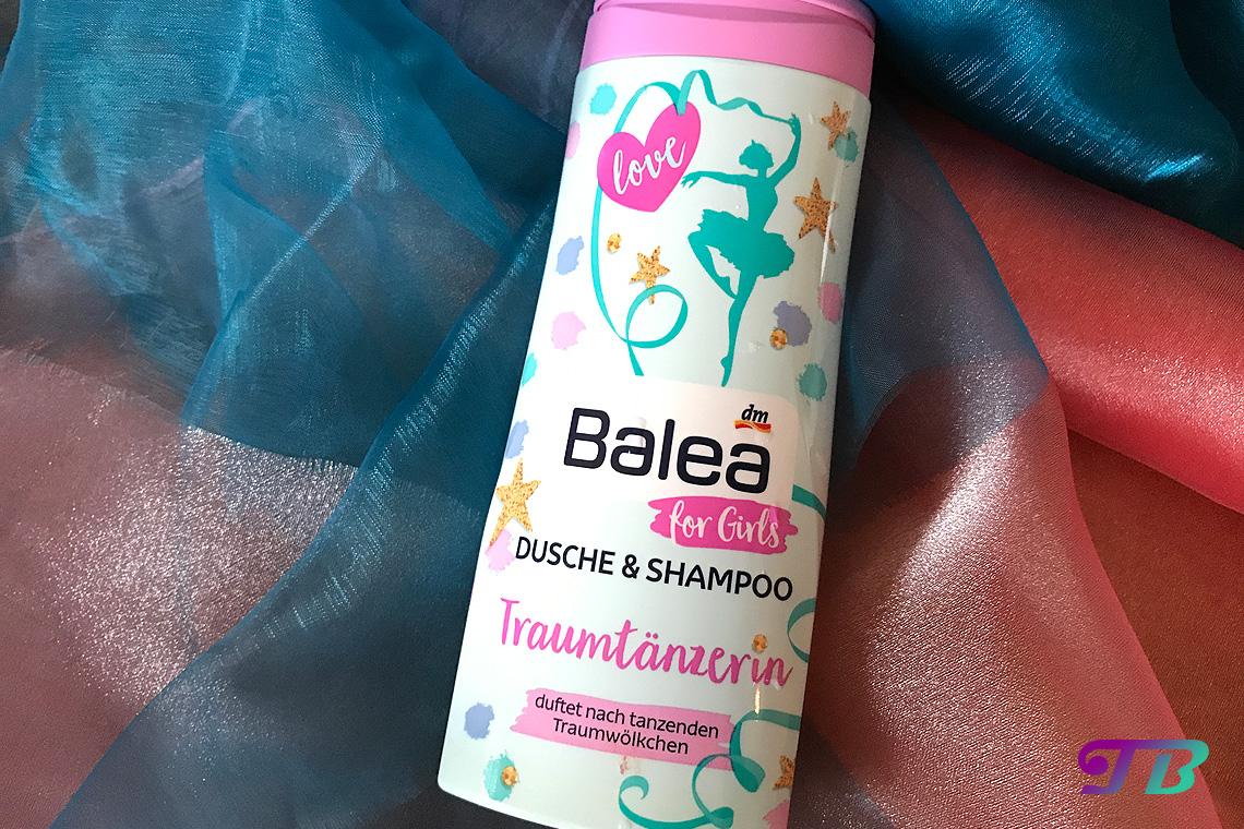 Balea Girls Traumtänzerin Dusche Shampoo
