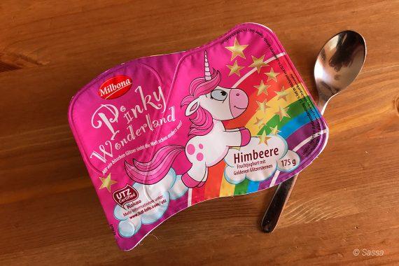 """Einhorn Trend - Joghurt """"Pinky Wonderland"""" von Milbona (Lidl)"""
