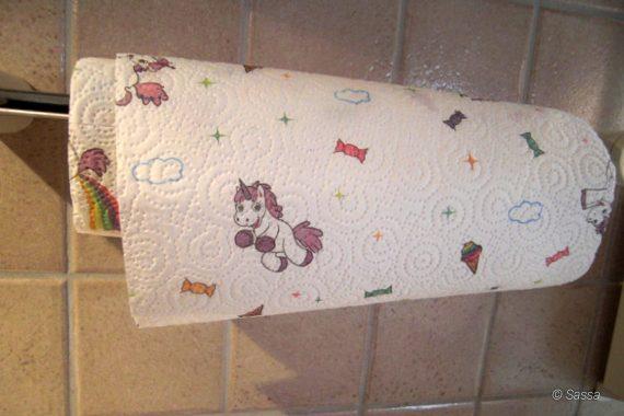 Einhorn Küchenpapier