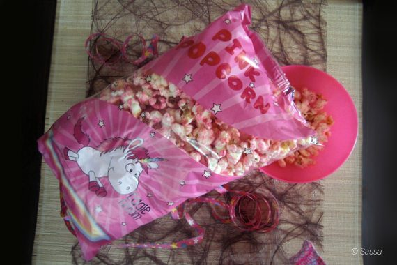 Einhorn Trend - rosa Popcorn