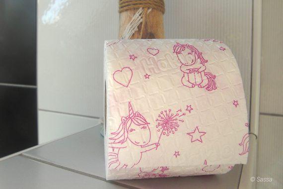 Einhorn Toilettenpapier von Hakle
