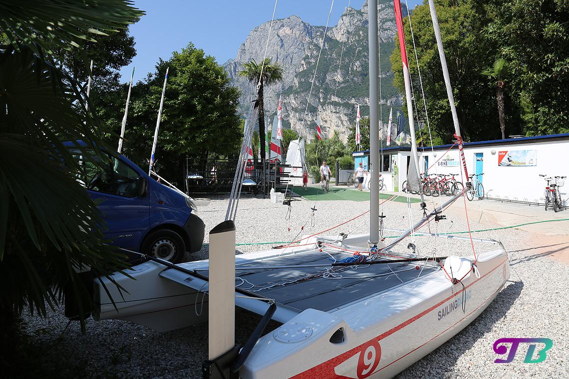 Italien Gardasee Riva Boot SUP Stehpaddel Verleih