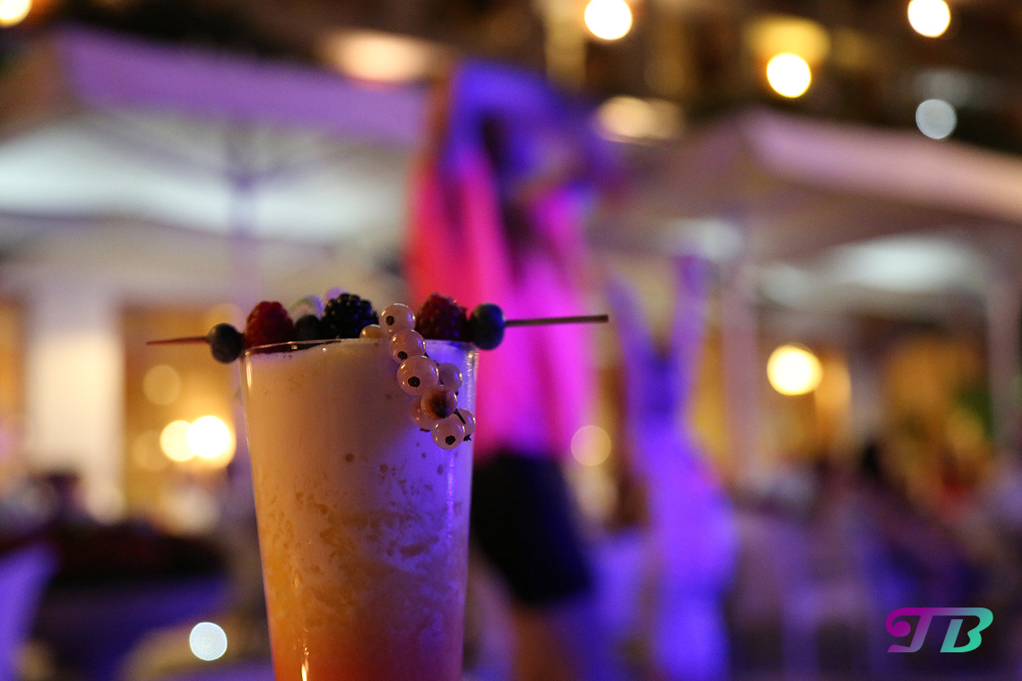 Italien Gardasee Riva Hotel Savoy Palace Cocktail Livemusik