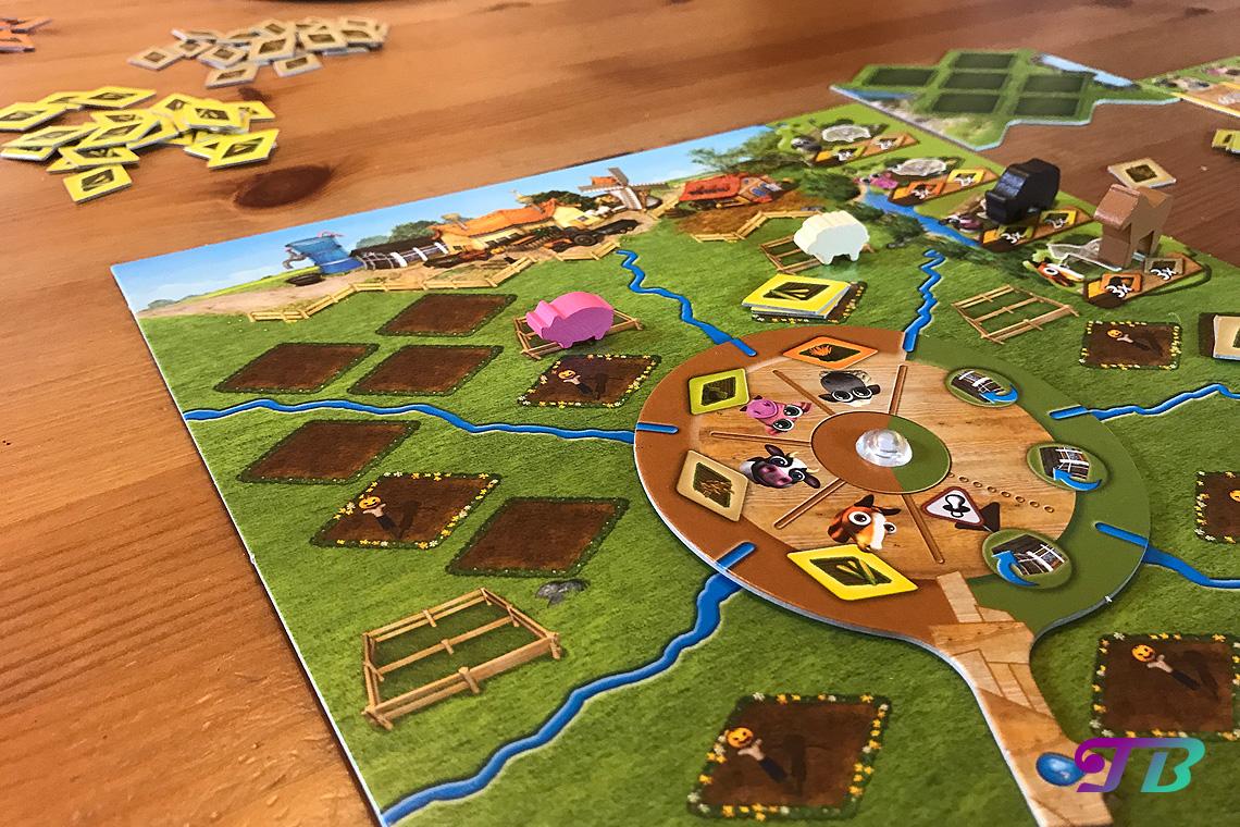 Farmerama Brettspiel Tiere auf Weide