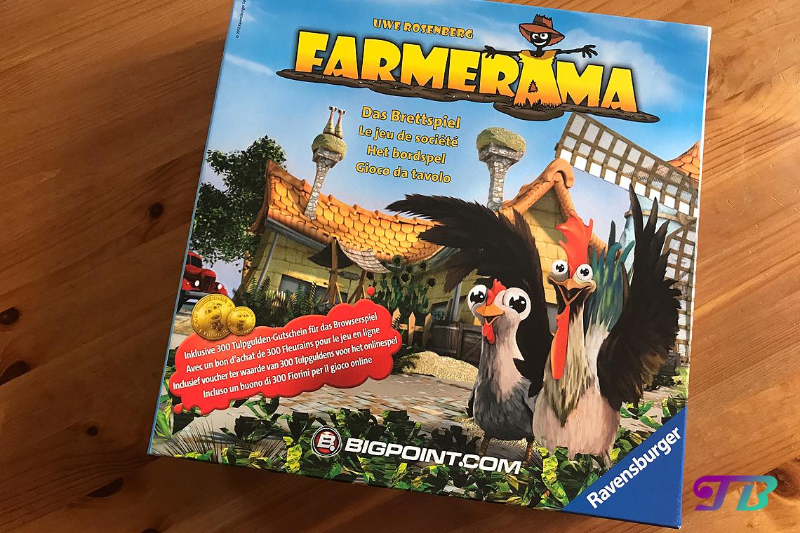 Farmerama Brettspiel Verpackung Ravensburger