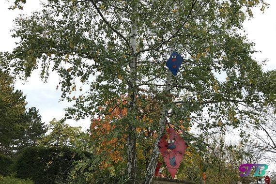 Tripsdrill Freizeitpark Erlebnispark Herbstdeko Drachen