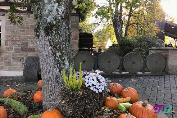 Tripsdrill Freizeitpark Erlebnispark Herbstdeko Kürbis