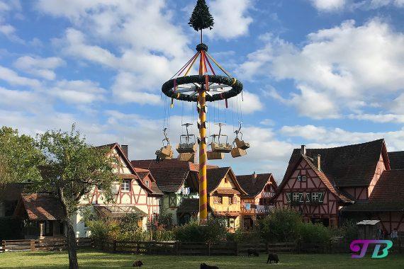 Tripsdrill Freizeitpark Erlebnispark Maibaum Gondel