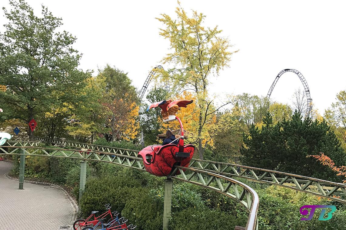 Tripsdrill Freizeitpark Erlebnispark Schmetterlingsflug