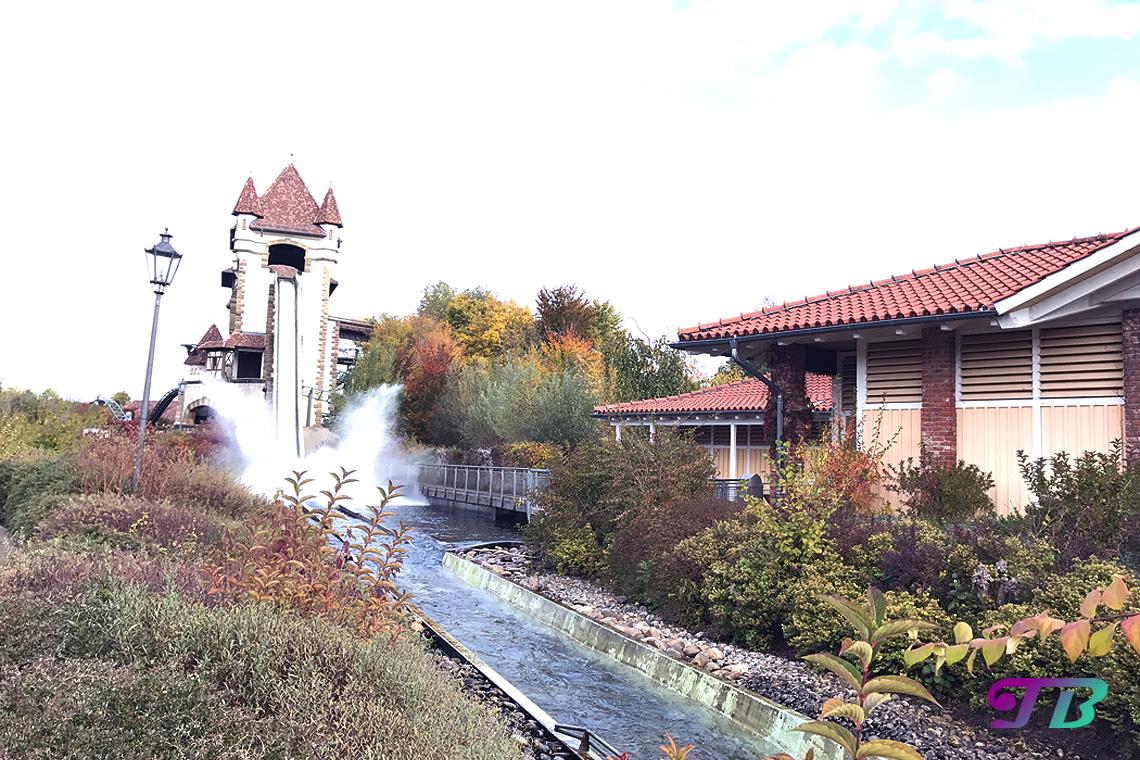 Tripsdrill Freizeitpark Erlebnispark Wildwasserbahn