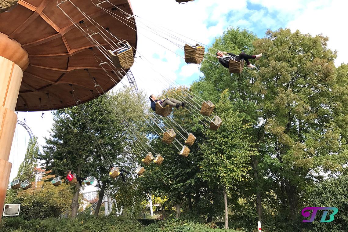 Tripsdrill Freizeitpark Erlebnispark Wirbelpilz Kettenkarussell