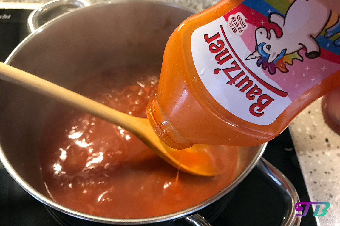 Weltnudeltag DIY Nudeln Tomatensauce mit Bautzner Ketchup