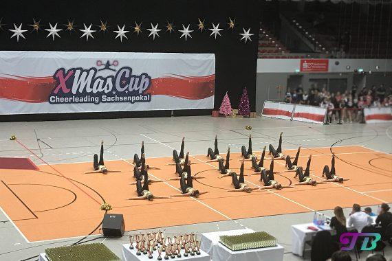 Xmas-Cup Sachsenpokal 2017 - Cheerdance MNRX Dance Team Dresden Monarchs e.V.