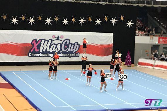 Cheerleading Xmas-Cup Sachsenpokal 2017 - Clovers Coed Niners Chemnitz e.V.