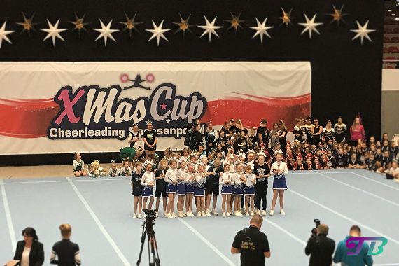 Xmas-Cup Sachsenpokal - PeeWee Level 1 - 1. Platz: Tinymaniacs Riesaer Cheerleadingverein e.V.