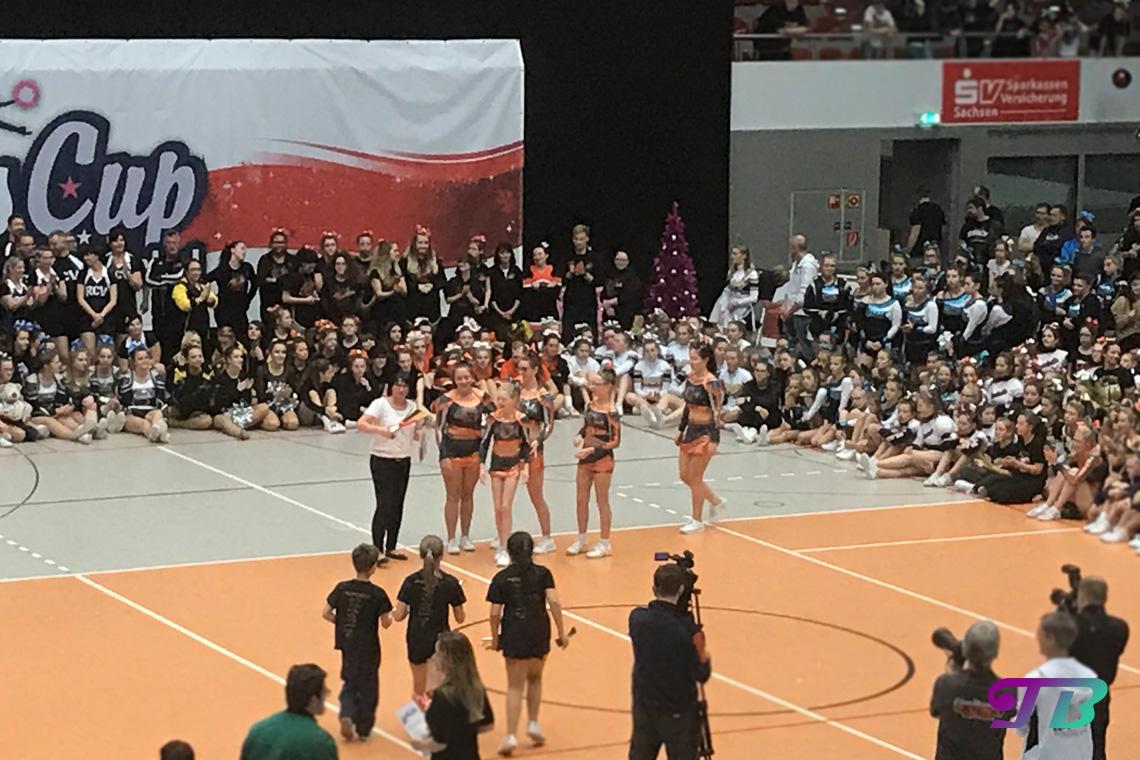 Cheerleading Xmas Cup Sachsenpokal Dresden 2017 Wolfpack Cheerleader Bautzen