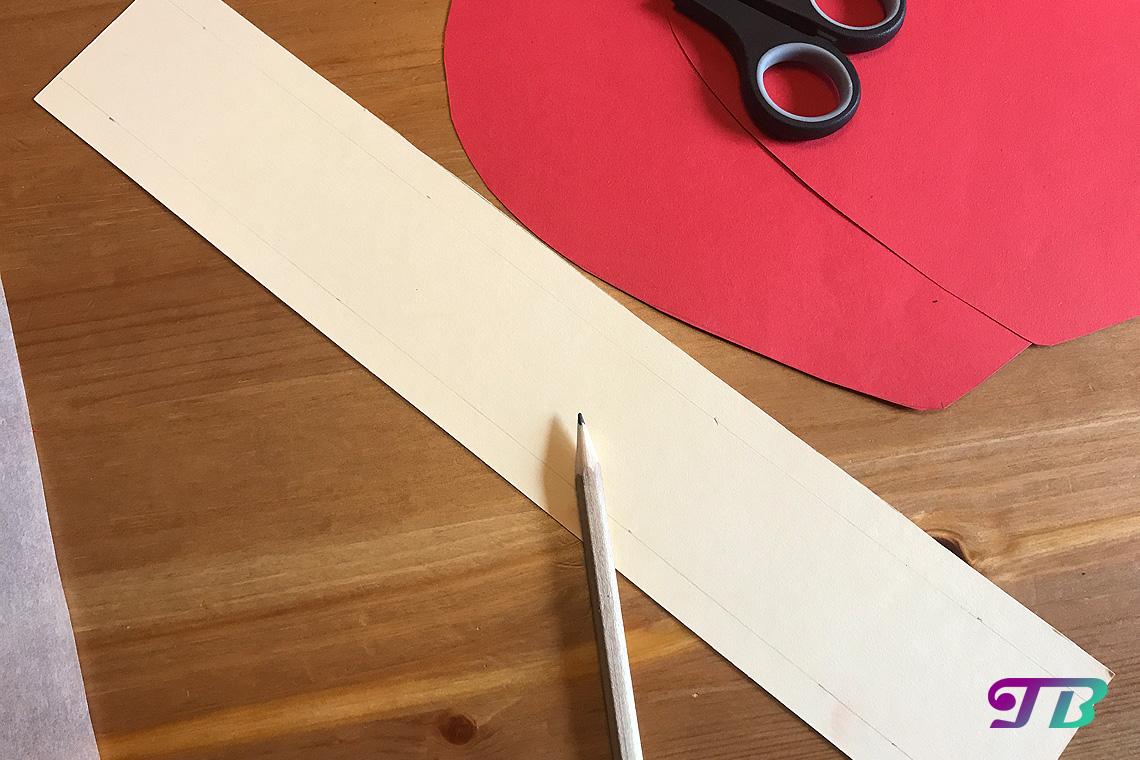 DIY Lastminute Lampion Herz Platzhalter-Streifen
