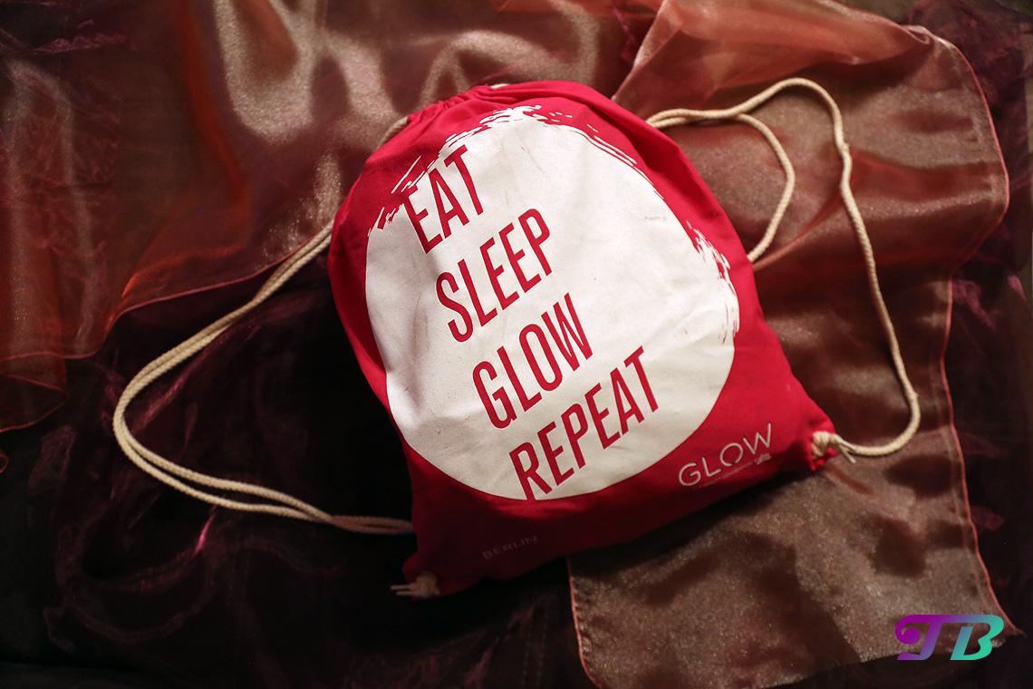 GLOW by dm Berlin GLOWcon Goodie Bag