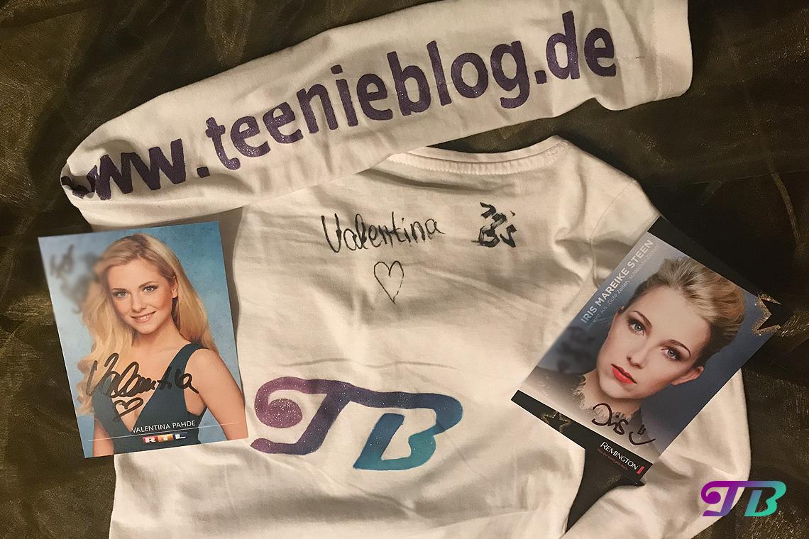 GLOW by dm Berlin glowcon Shirt Autogramme Unterschriften