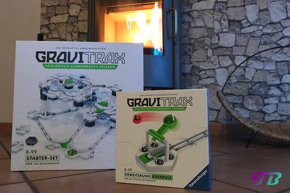 GraviTrax interaktive Kugelbahn Ravensburger Erweiterung Katapult