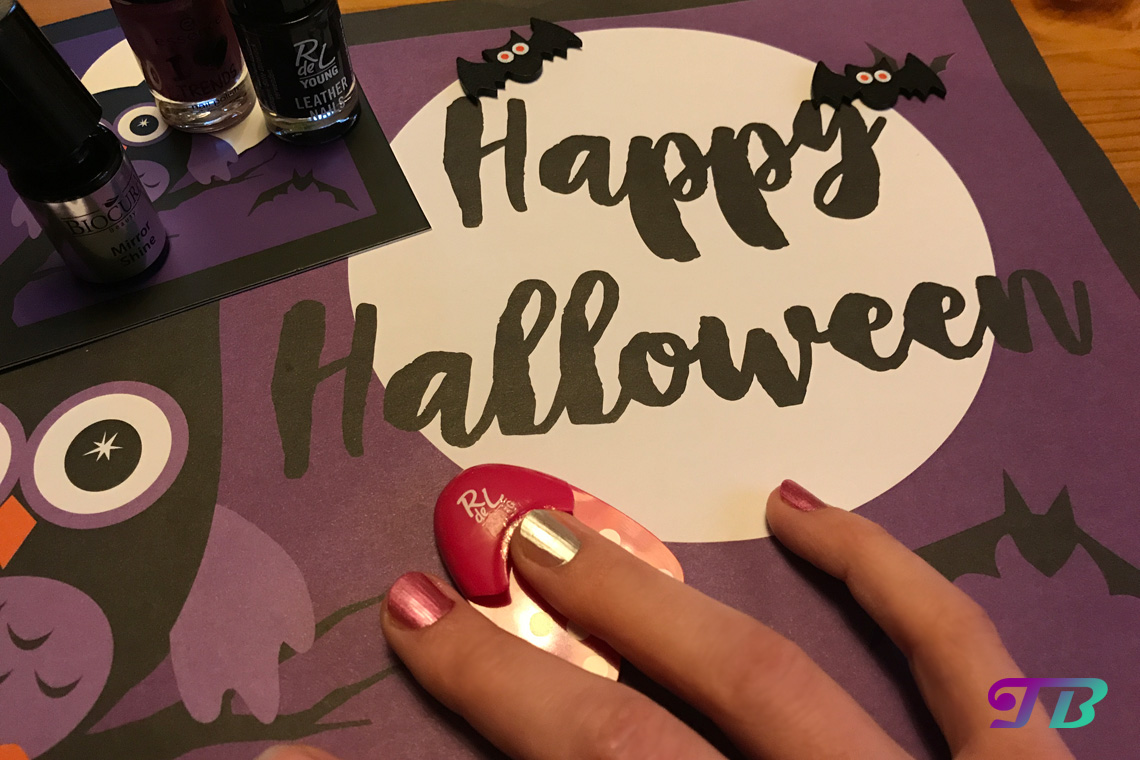 Halloween Nageldesign Rdel Young Nagellack Perfect Manicure Helper