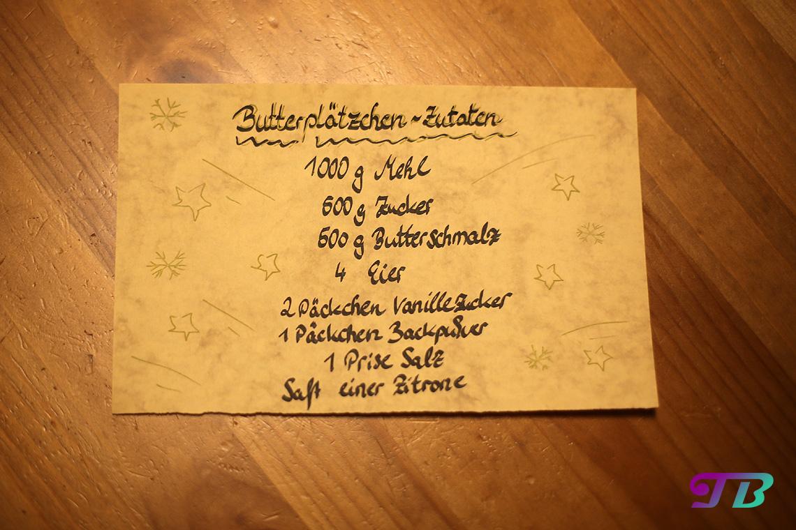 DIY Plätzchen Butterplätzchen Rezept
