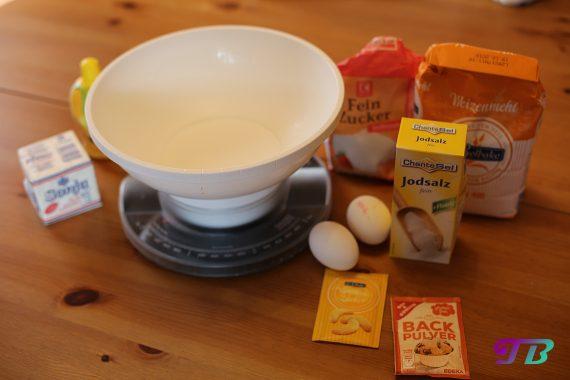 DIY Plätzchen Butterplätzchen Zutaten