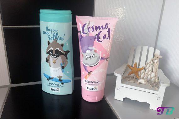 Balea Wahltag Duschgel Waschbär Bodylotion Cosmo Cat