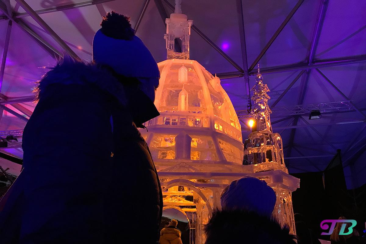Eiswelt Dresden Eis Frauenkirche