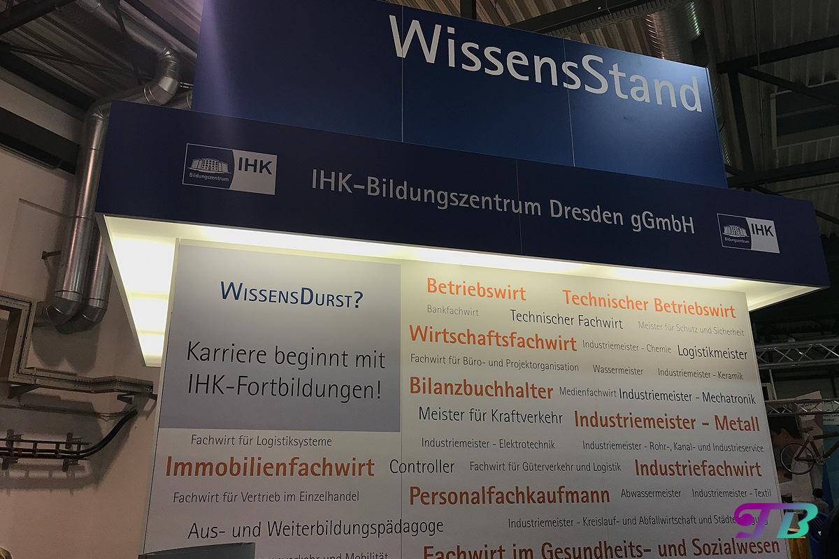 Karrierestart Messe Dresden Beruf Job Ausbildung IHK