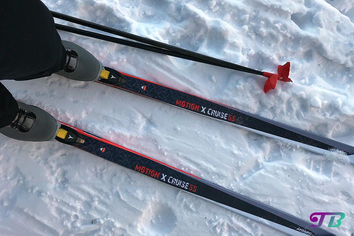 Skifahren Langlauf Langlaufski Fichtelberg