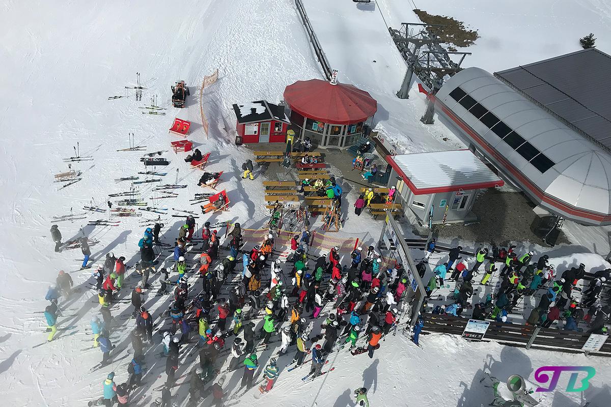 Skifahren Rodel Fichtelberg Ausblick Schwebebahn
