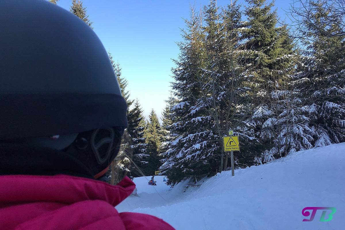 Skifahren Rodeln Rodelstrecke Fichtelberg