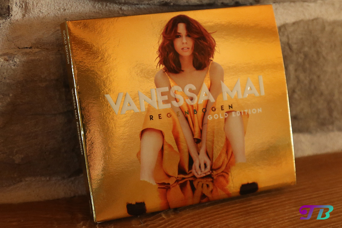 Vanessa Mai Regenbogen Gold Edition CD Cover