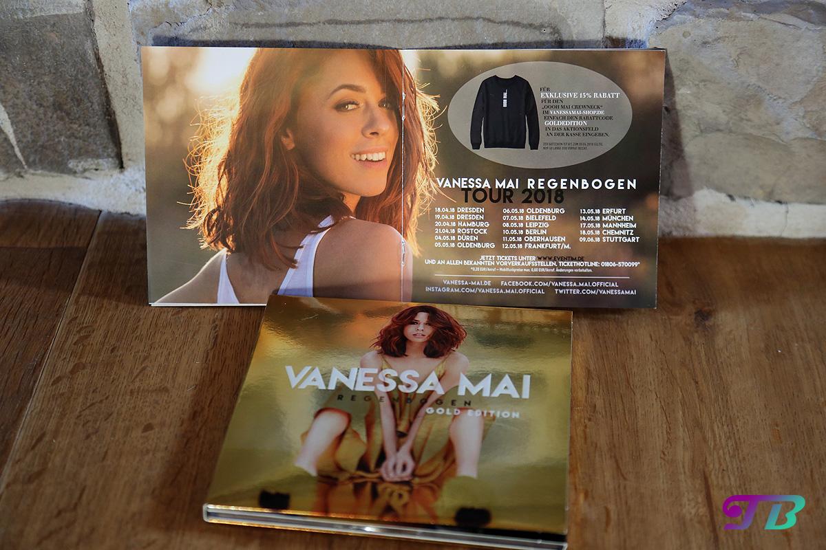 Vanessa Mai Regenbogen Gold Edition Tourdaten