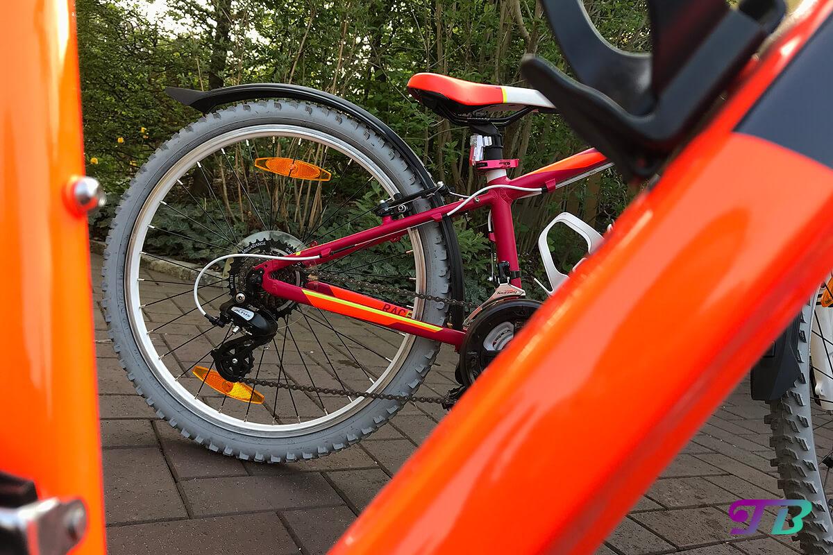Fahrrad Tour ferti geputzt sauber glänzen frühlingsfit