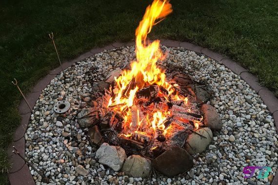 Lagerfeuer Feuerstelle