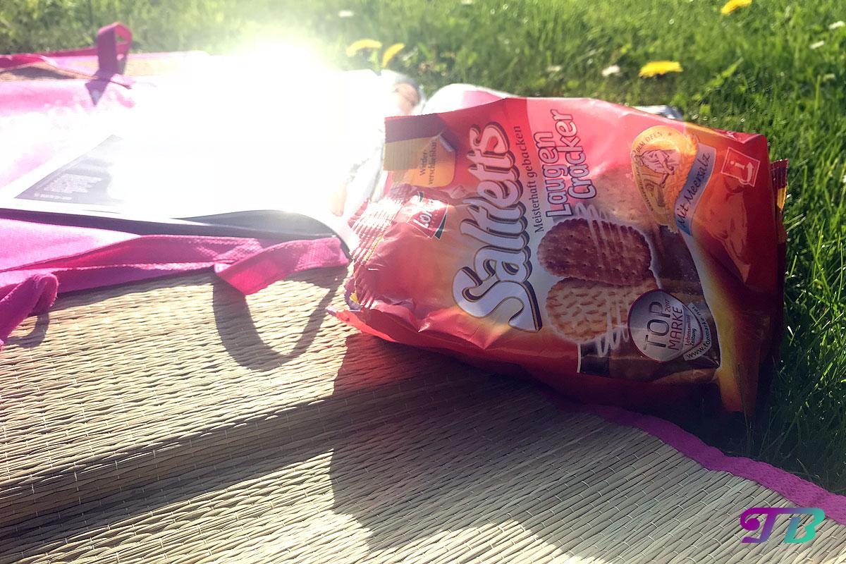 Saltletts Laugen Cracker erster Eindruck Testpaket Natur genießen